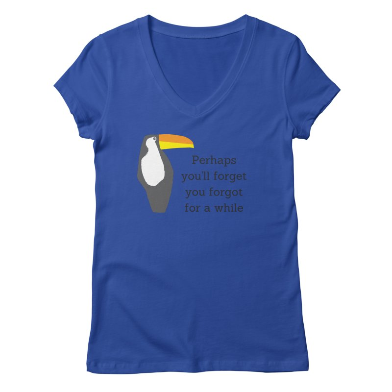 Birds of a Feather Women's V-Neck by Fun Things to Wear