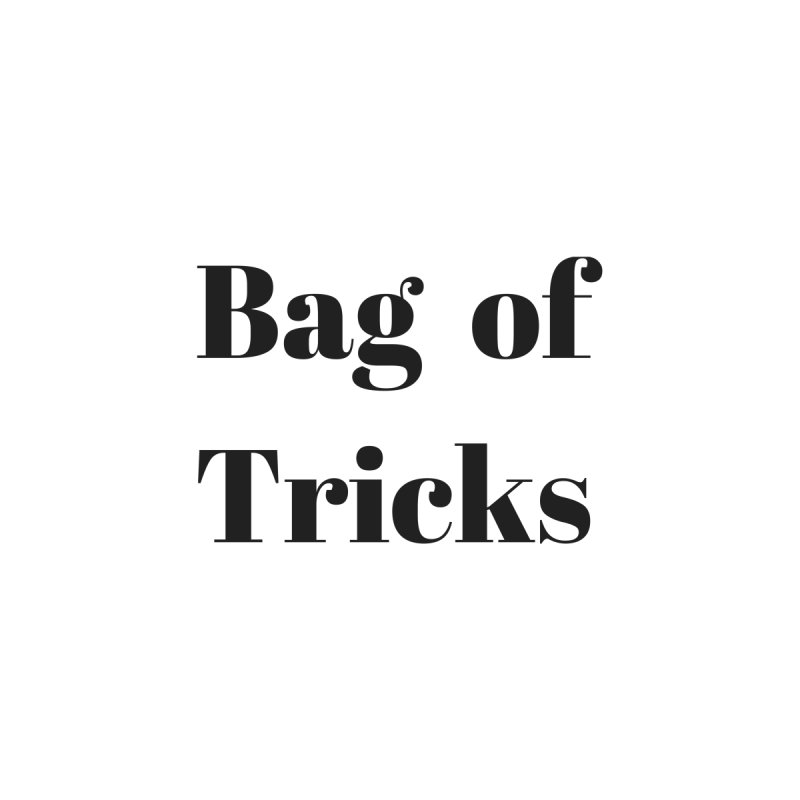 Bag of Tricks Accessories Bag by Fun Things to Wear