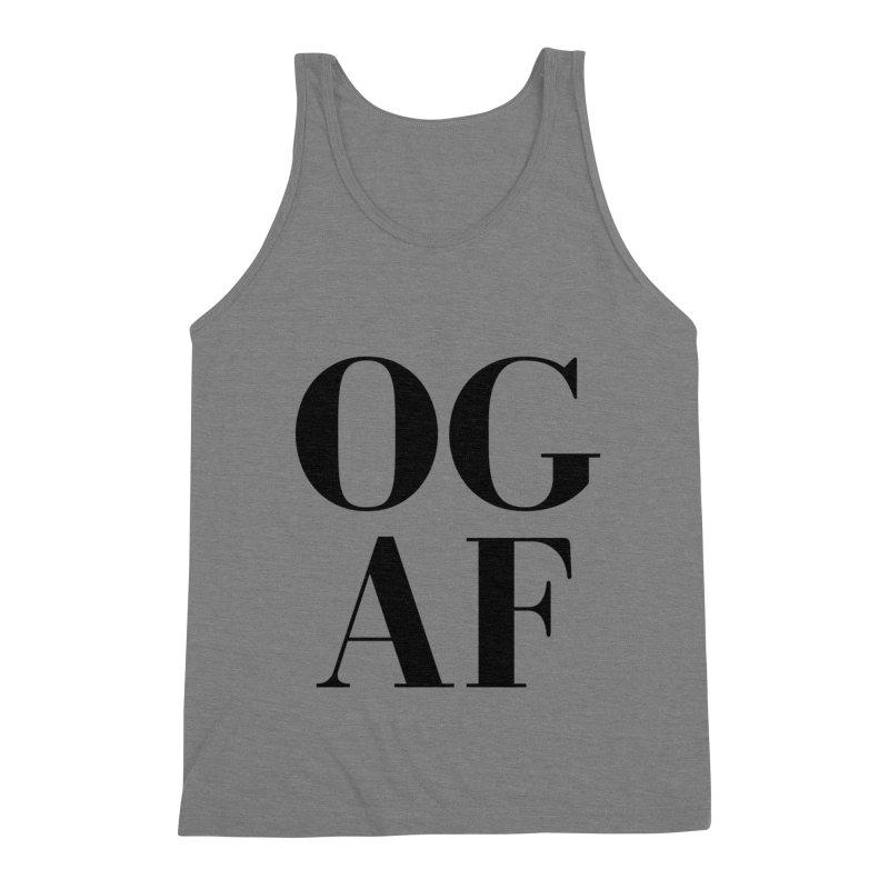 OG AF Men's Tank by Fun Things to Wear