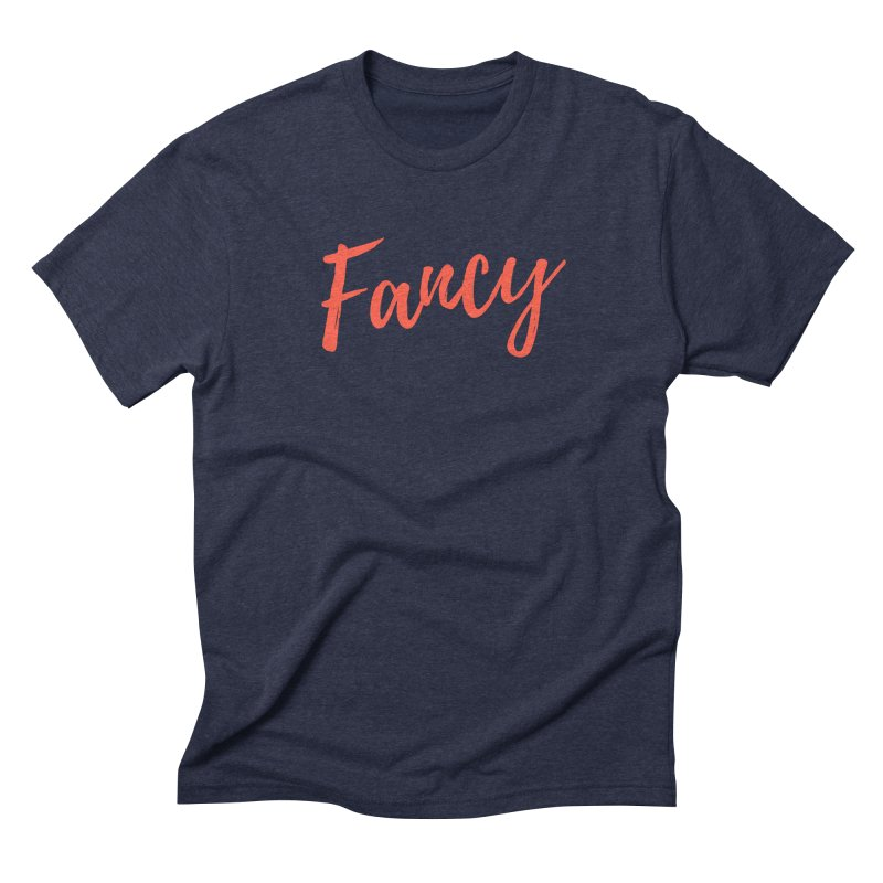 Fancy Men's Triblend T-Shirt by Fun Things to Wear