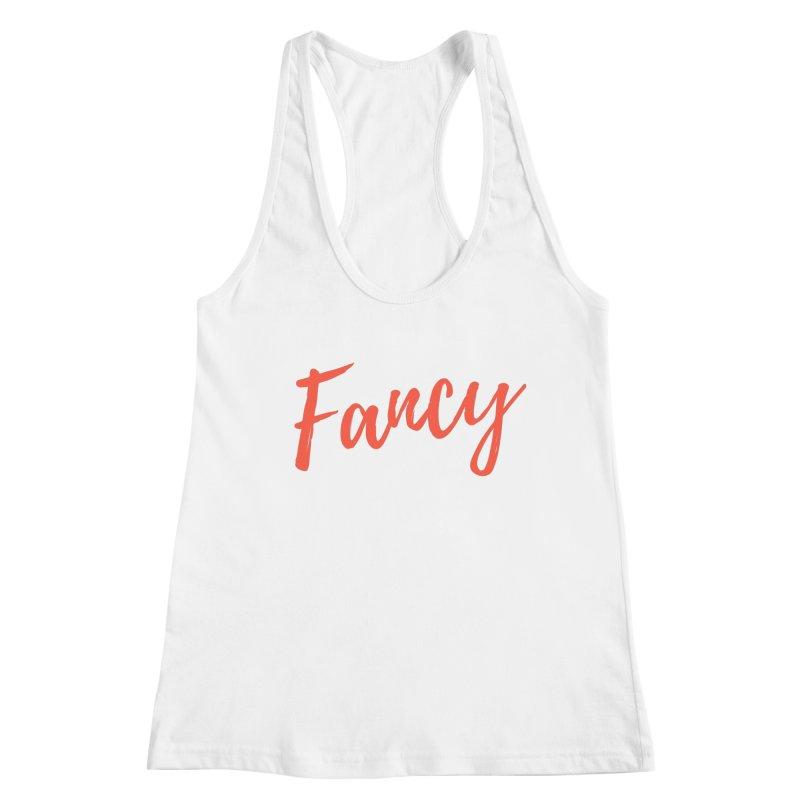 Fancy Women's Racerback Tank by Fun Things to Wear