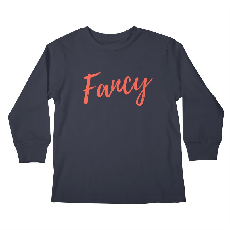 Fancy Kids Longsleeve T-Shirt by Fun Things to Wear