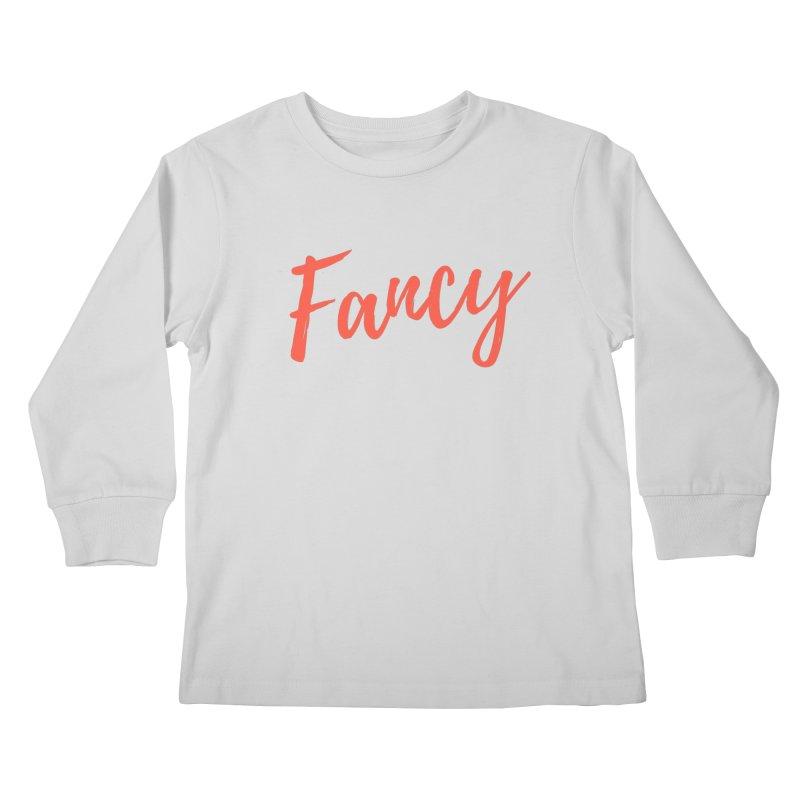 Fancy Kids Longsleeve T-Shirt by Fun Things to Wear