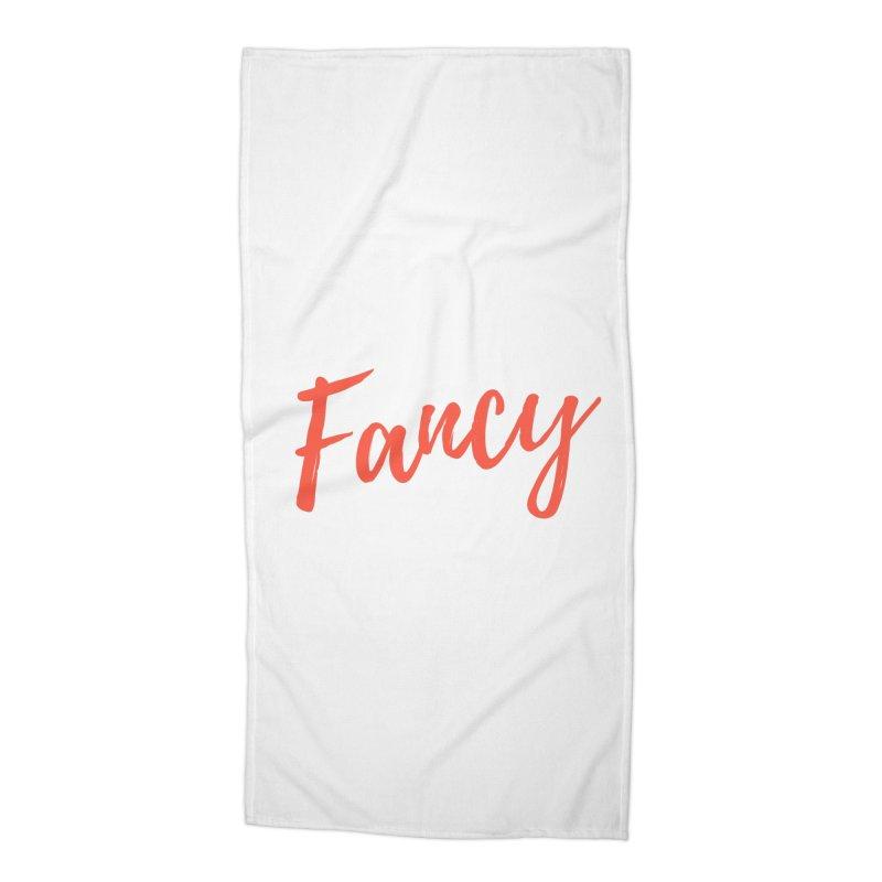 Fancy Accessories Beach Towel by Fun Things to Wear