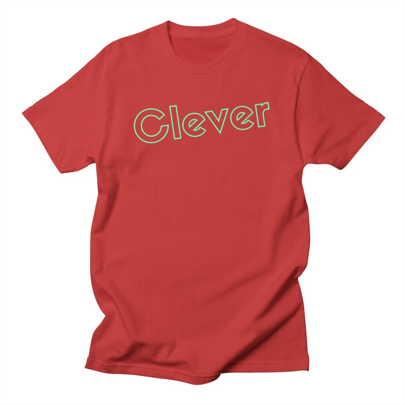 Clever Men's T-Shirt by Fun Things to Wear
