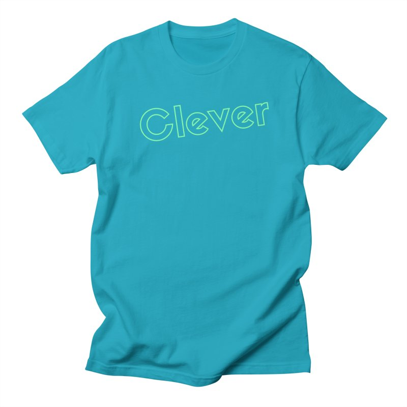 Clever Men's Regular T-Shirt by Fun Things to Wear