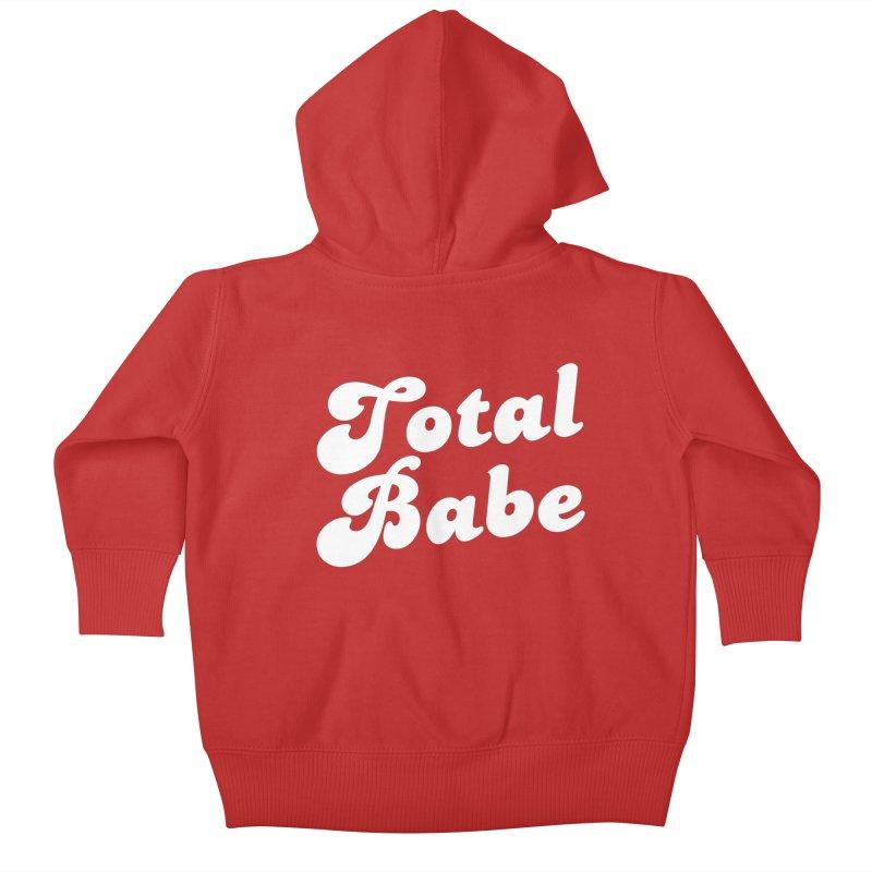 Total Babe Kids Baby Zip-Up Hoody by Fun Things to Wear