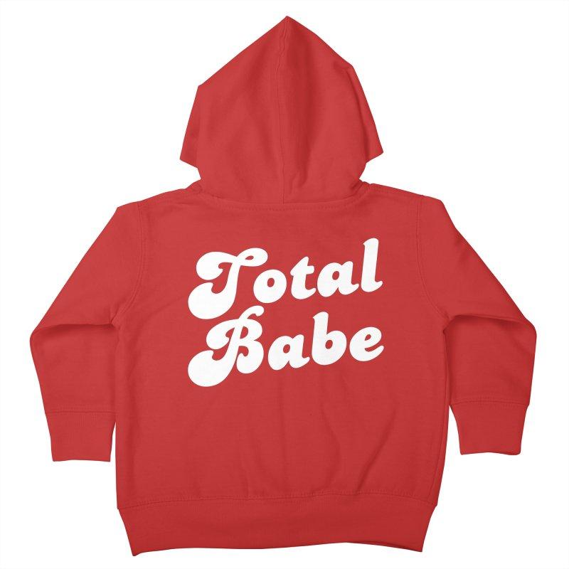 Total Babe Kids Toddler Zip-Up Hoody by Fun Things to Wear