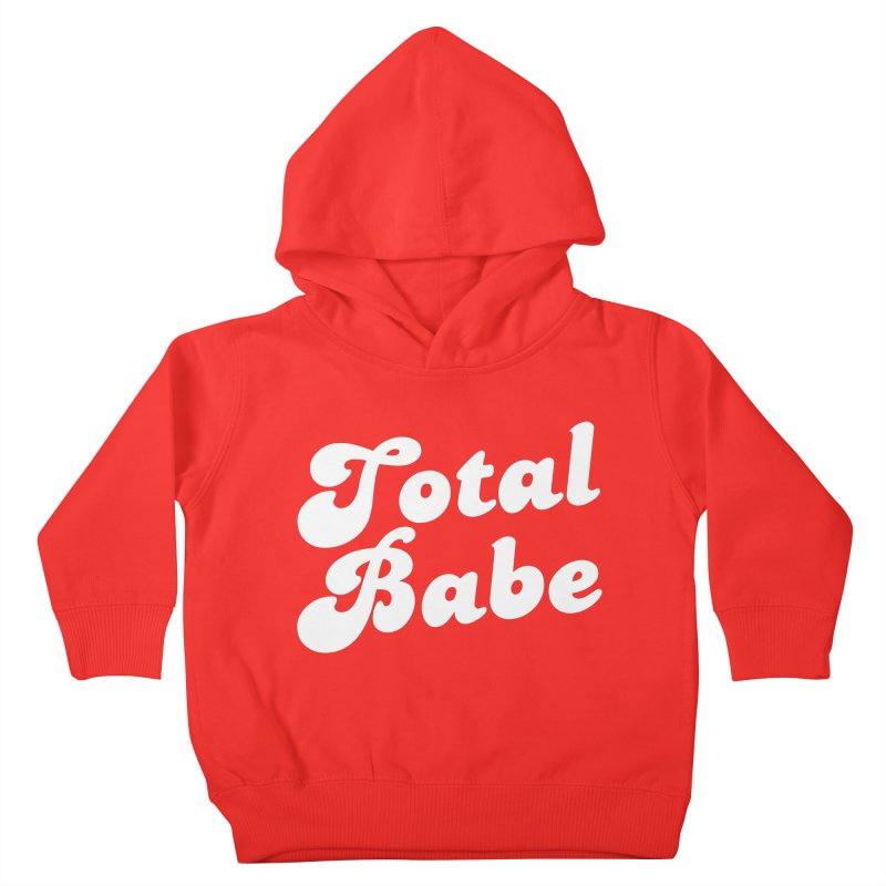 Total Babe Kids Toddler Pullover Hoody by Fun Things to Wear