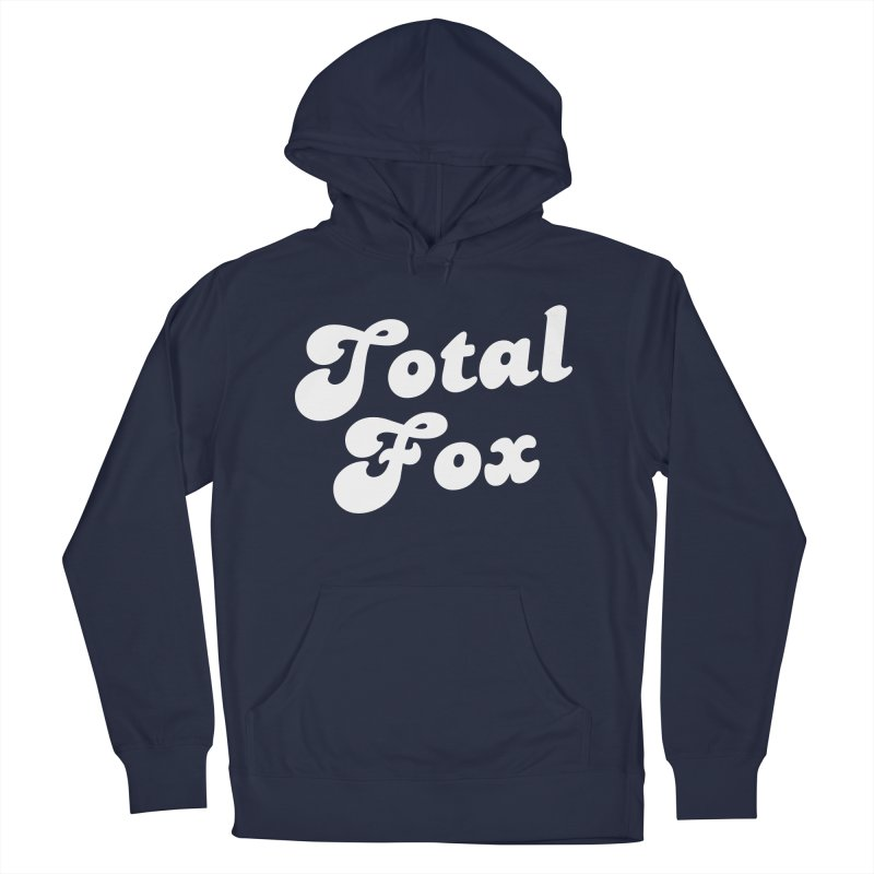 Total Fox Men's French Terry Pullover Hoody by Fun Things to Wear