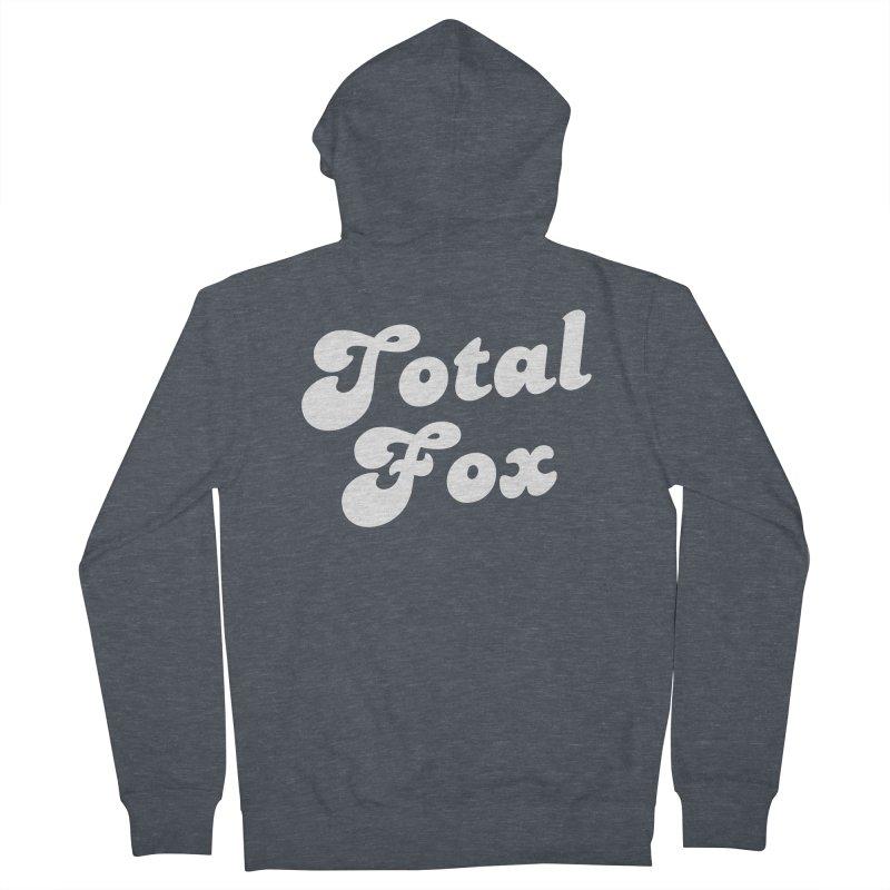 Total Fox Men's Zip-Up Hoody by Fun Things to Wear