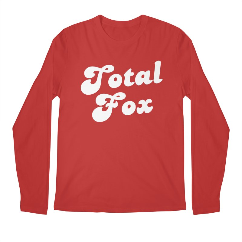 Total Fox Men's Longsleeve T-Shirt by Fun Things to Wear