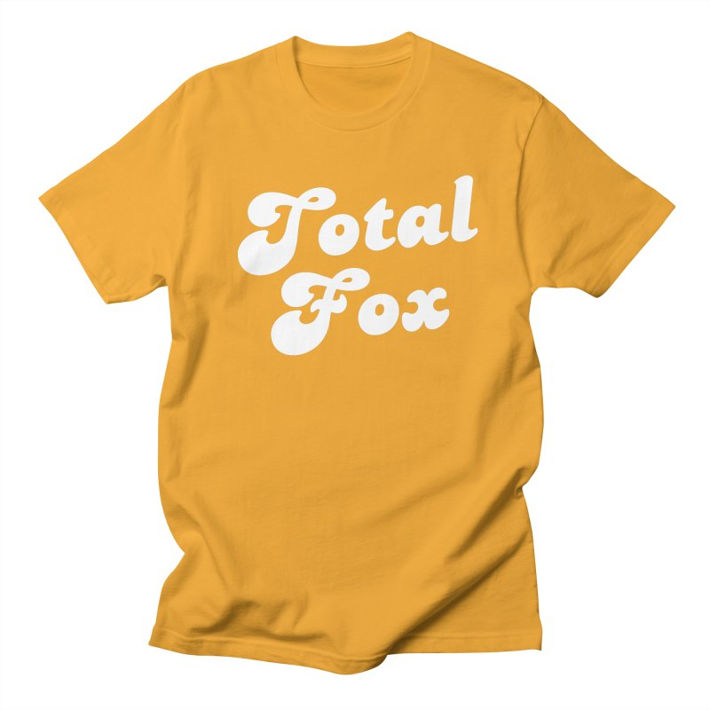 Total Fox Men's Regular T-Shirt by Fun Things to Wear