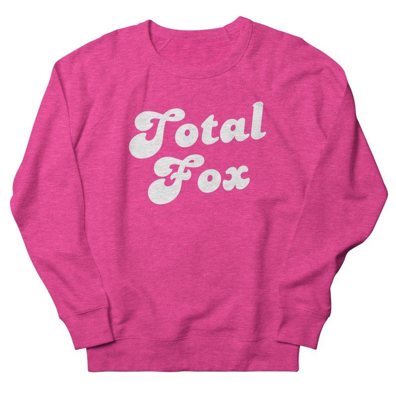 Total Fox Men's French Terry Sweatshirt by Fun Things to Wear