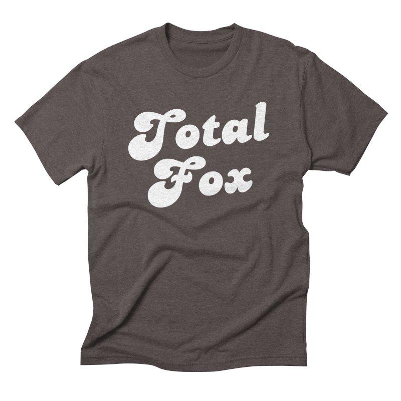 Total Fox Men's Triblend T-Shirt by Fun Things to Wear
