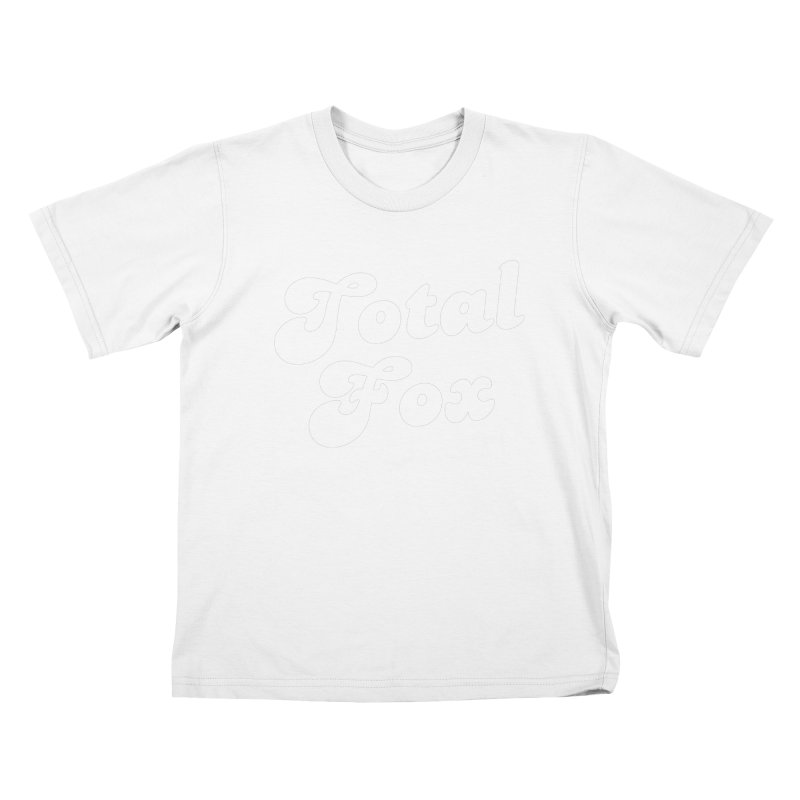 Total Fox Kids T-Shirt by Fun Things to Wear