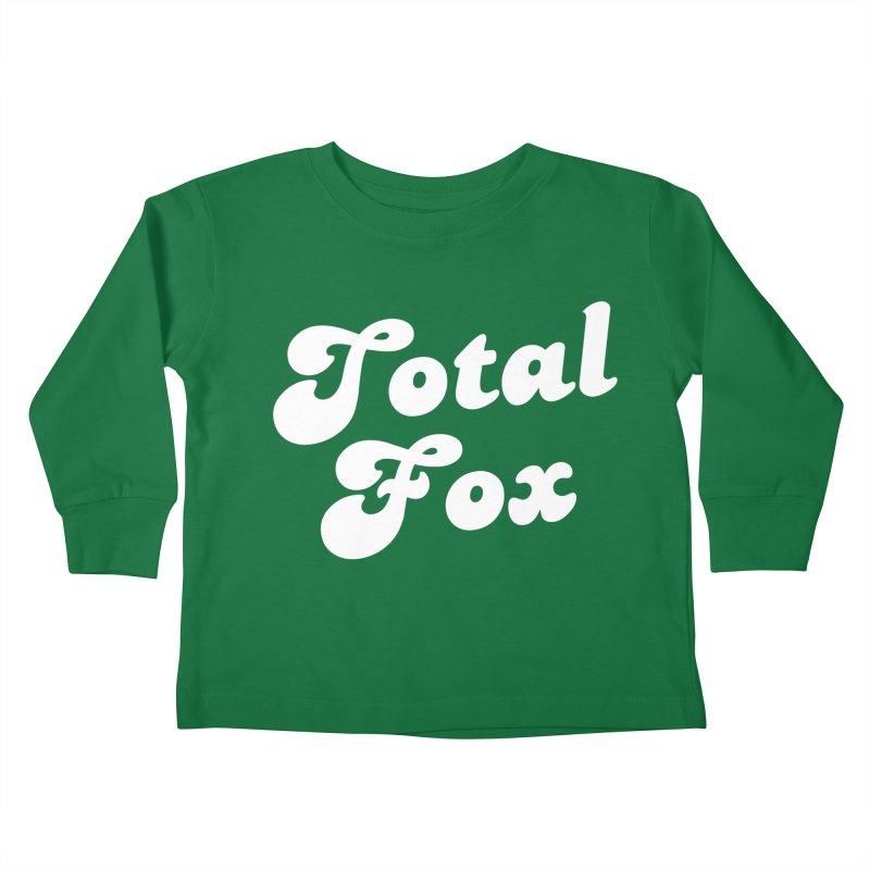Total Fox Kids Toddler Longsleeve T-Shirt by Fun Things to Wear