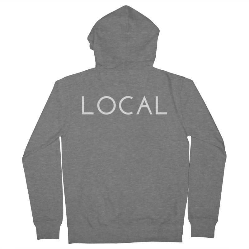 Local Women's French Terry Zip-Up Hoody by Fun Things to Wear