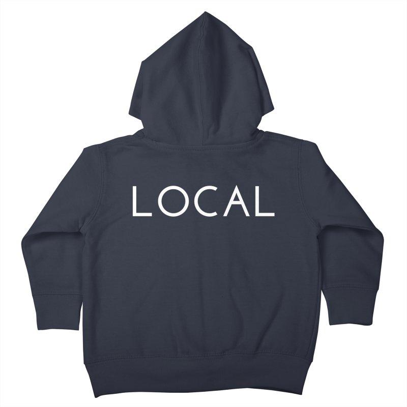 Local Kids Toddler Zip-Up Hoody by Fun Things to Wear