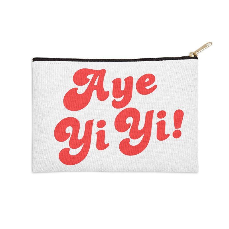 Aye Yi Yi! Accessories Zip Pouch by Fun Things to Wear