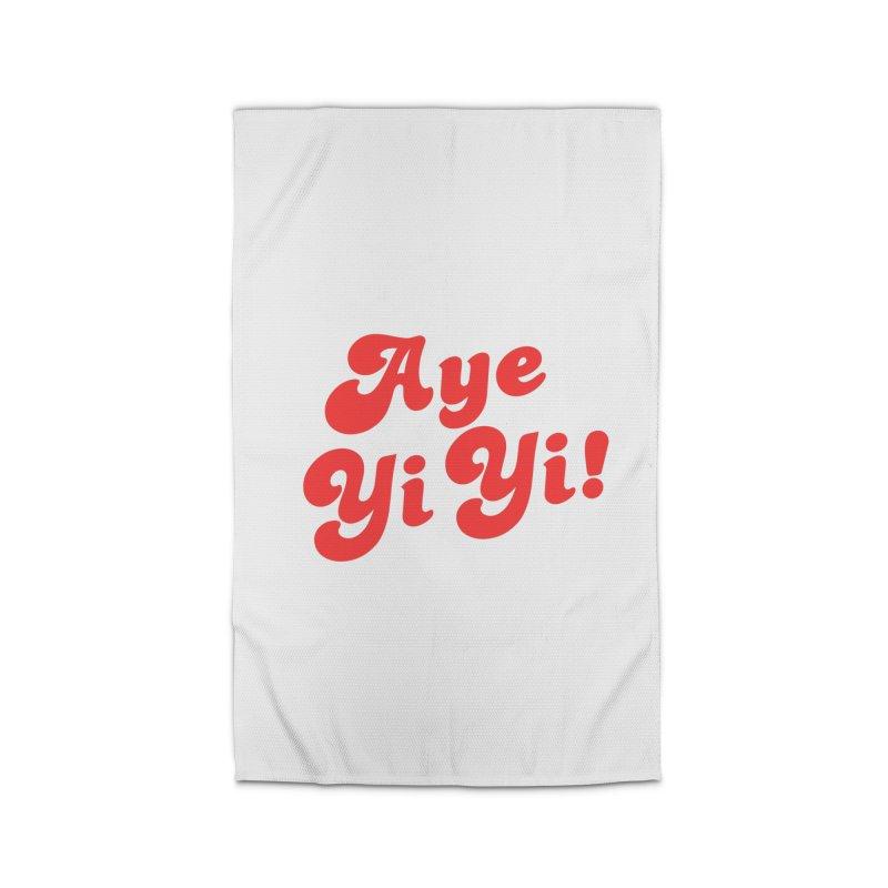 Aye Yi Yi! Home Rug by Fun Things to Wear