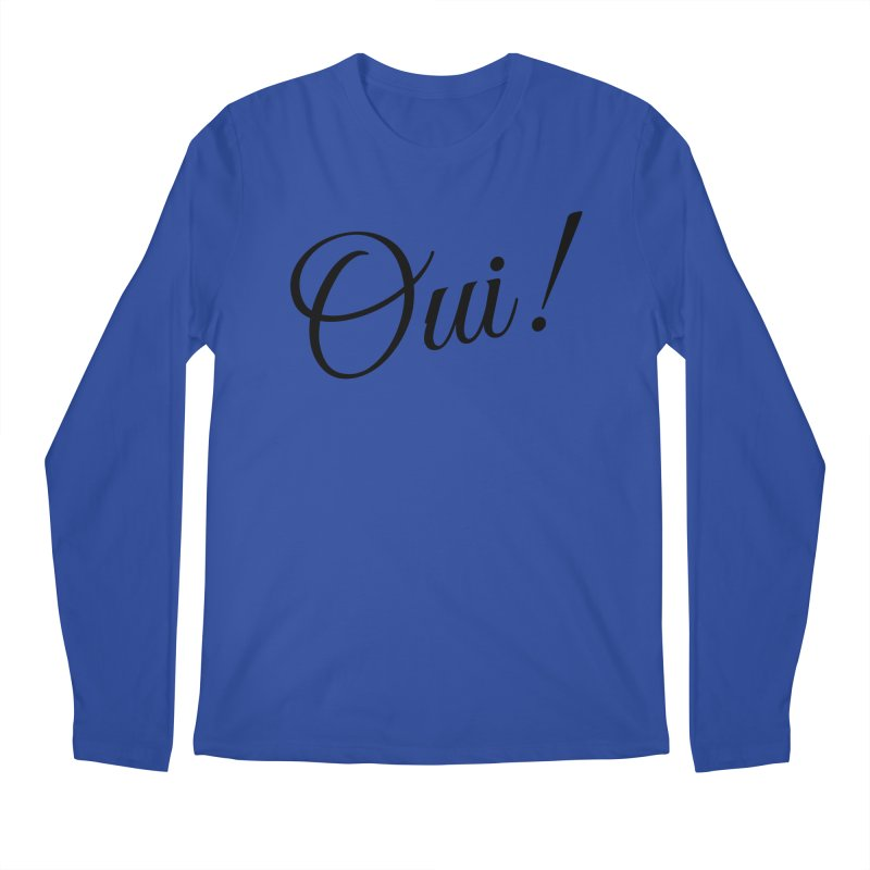 Yes.  Men's Longsleeve T-Shirt by Fun Things to Wear