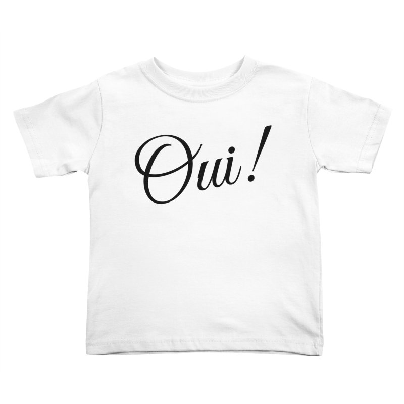 Yes.  Kids Toddler T-Shirt by Fun Things to Wear