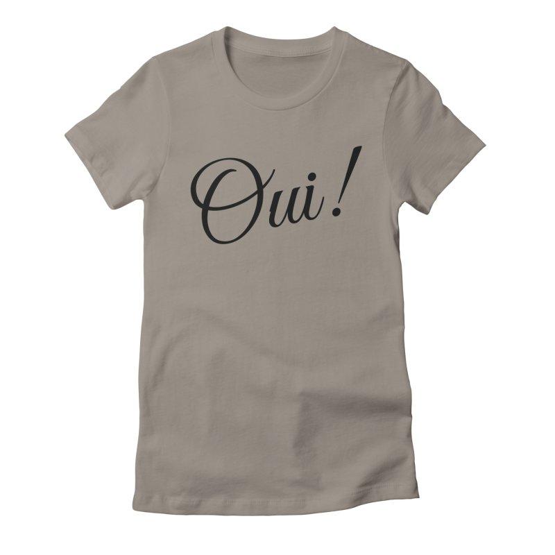 Yes.  Women's T-Shirt by Fun Things to Wear