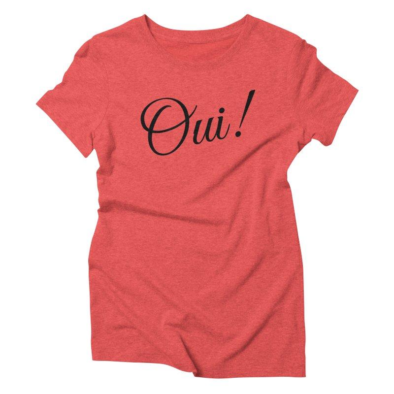 Yes.  Women's Triblend T-Shirt by Fun Things to Wear