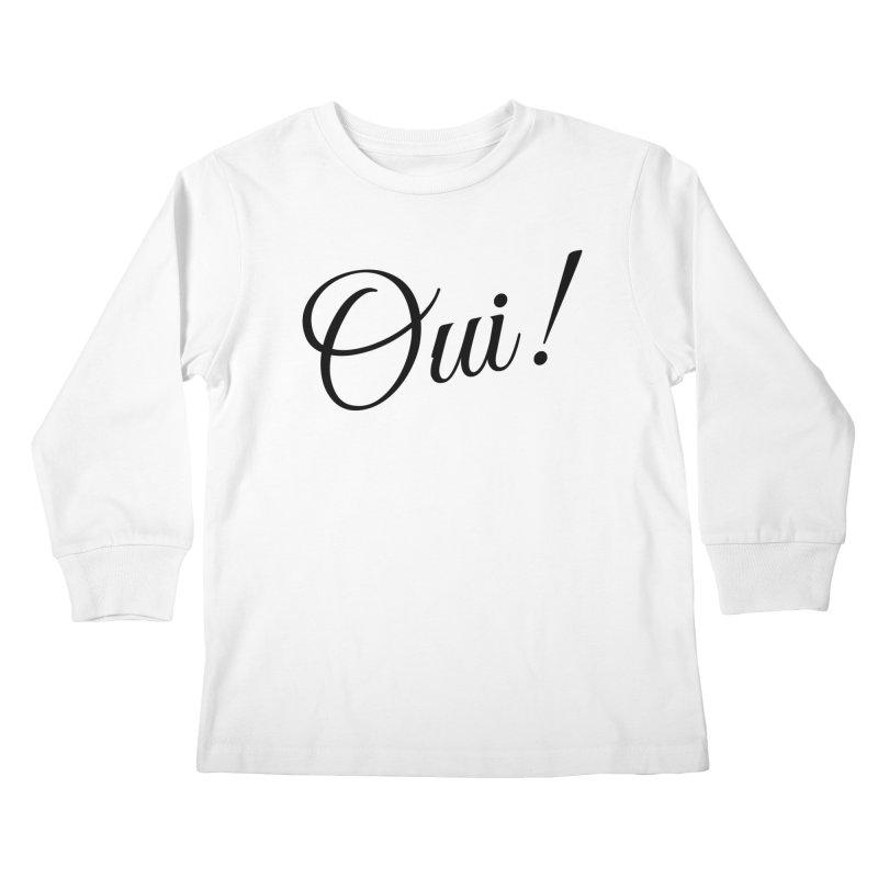 Yes.  Kids Longsleeve T-Shirt by Fun Things to Wear