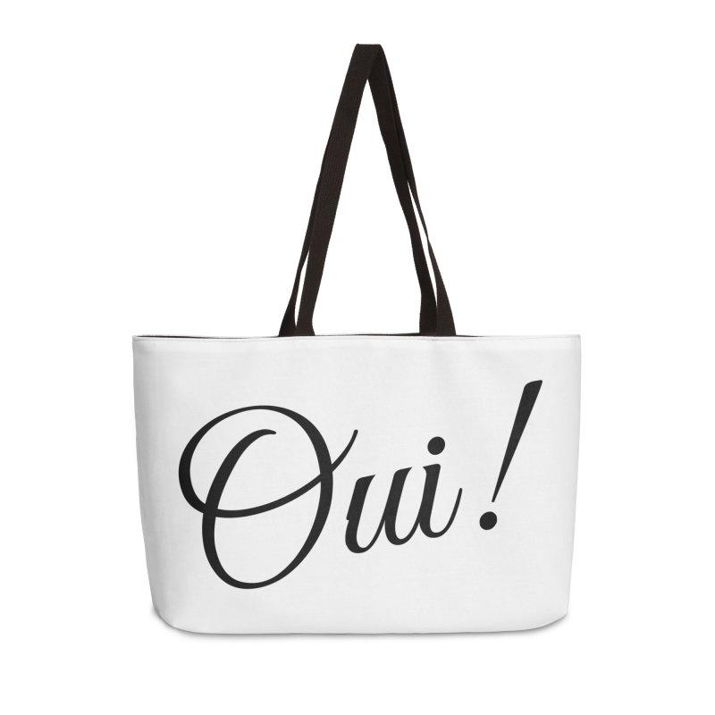 Yes.  Accessories Weekender Bag Bag by Fun Things to Wear