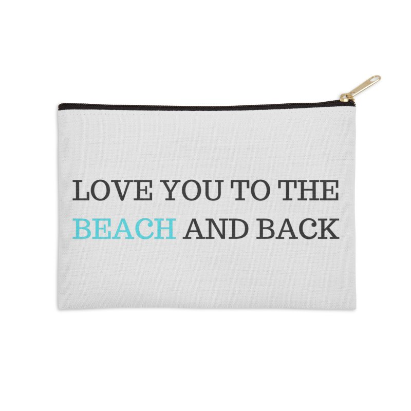 Beach and Back Accessories Zip Pouch by Fun Things to Wear