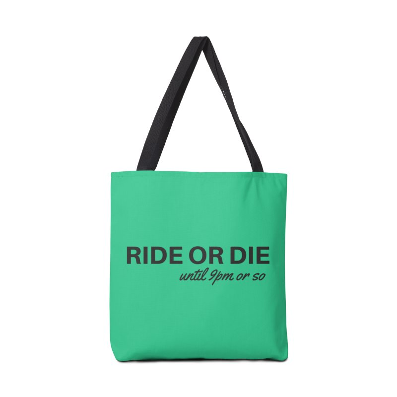 til 9pm or so Accessories Tote Bag Bag by Fun Things to Wear