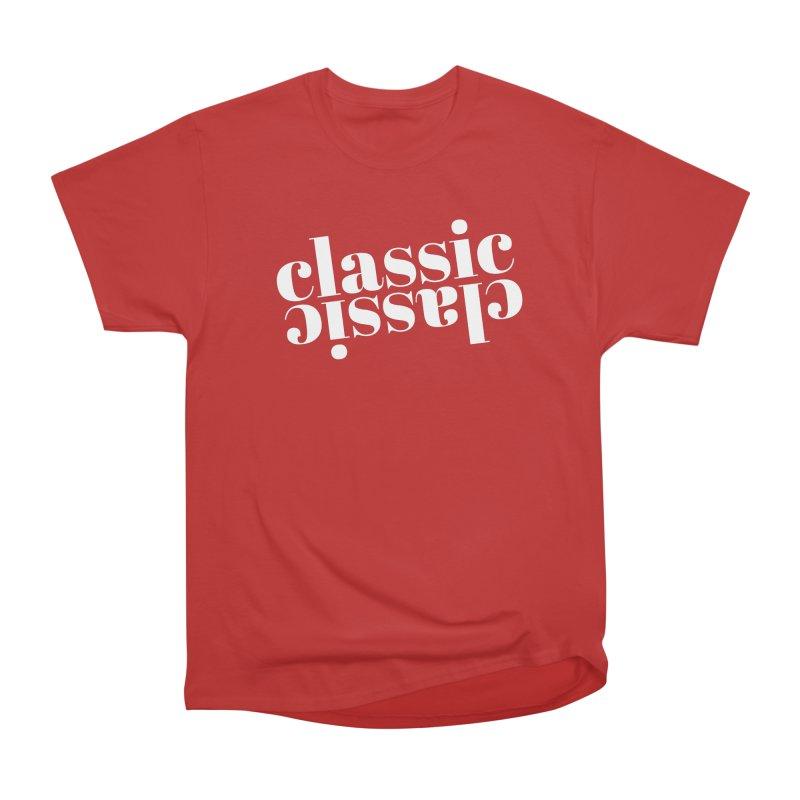 Classic.  Men's Heavyweight T-Shirt by Fun Things to Wear