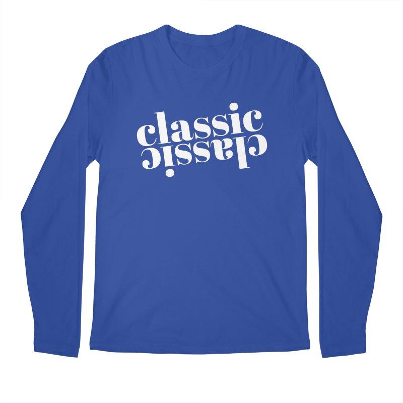 Classic.  Men's Longsleeve T-Shirt by Fun Things to Wear