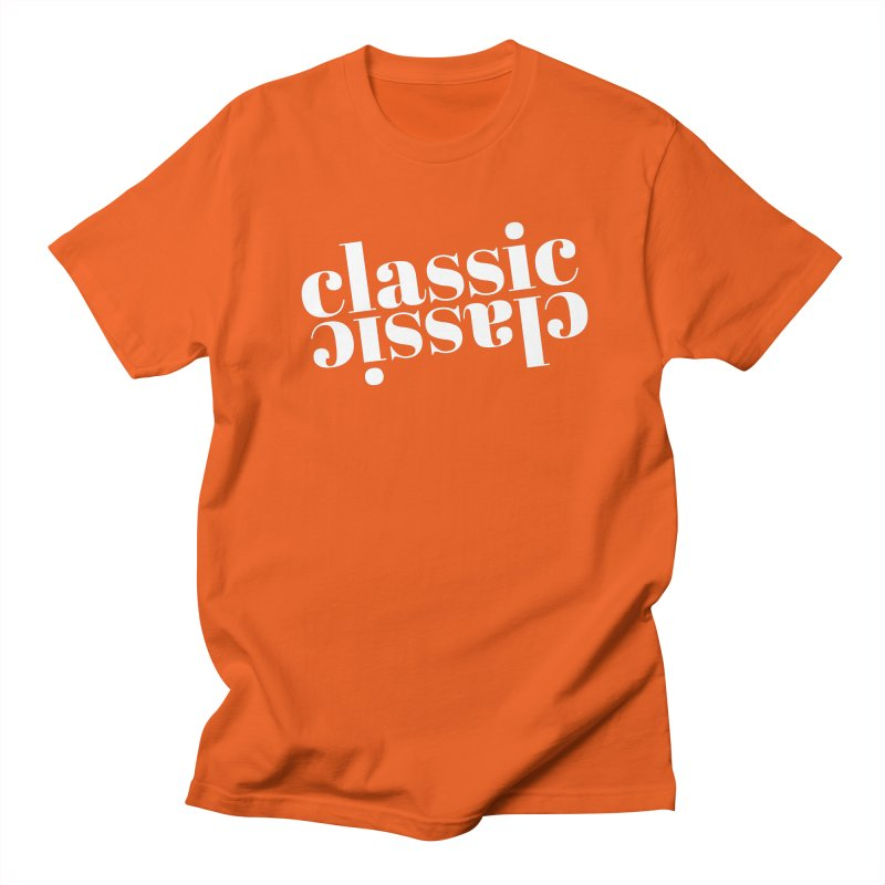 Classic.  Men's Regular T-Shirt by Fun Things to Wear