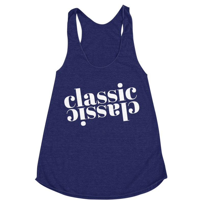 Classic.  Women's Racerback Triblend Tank by Fun Things to Wear