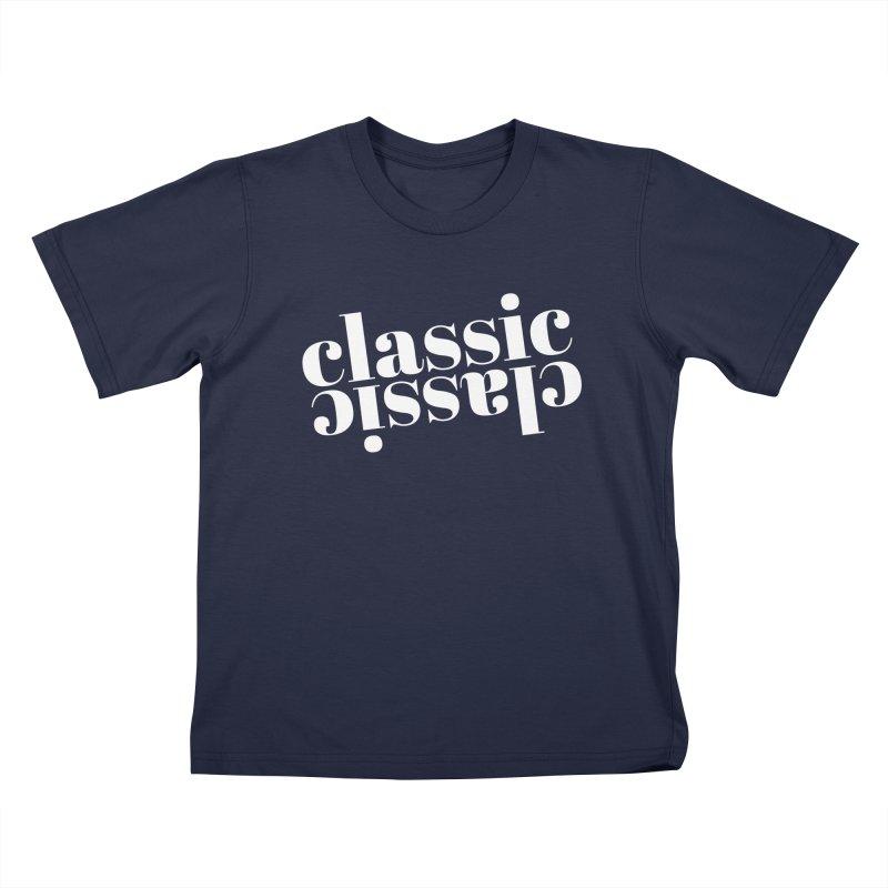 Classic.  Kids T-Shirt by Fun Things to Wear