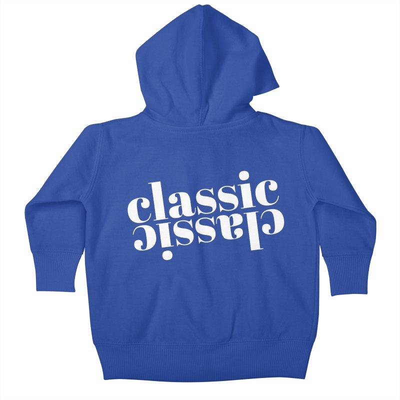 Classic.  Kids Baby Zip-Up Hoody by Fun Things to Wear