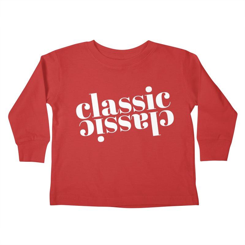 Classic.  Kids Toddler Longsleeve T-Shirt by Fun Things to Wear