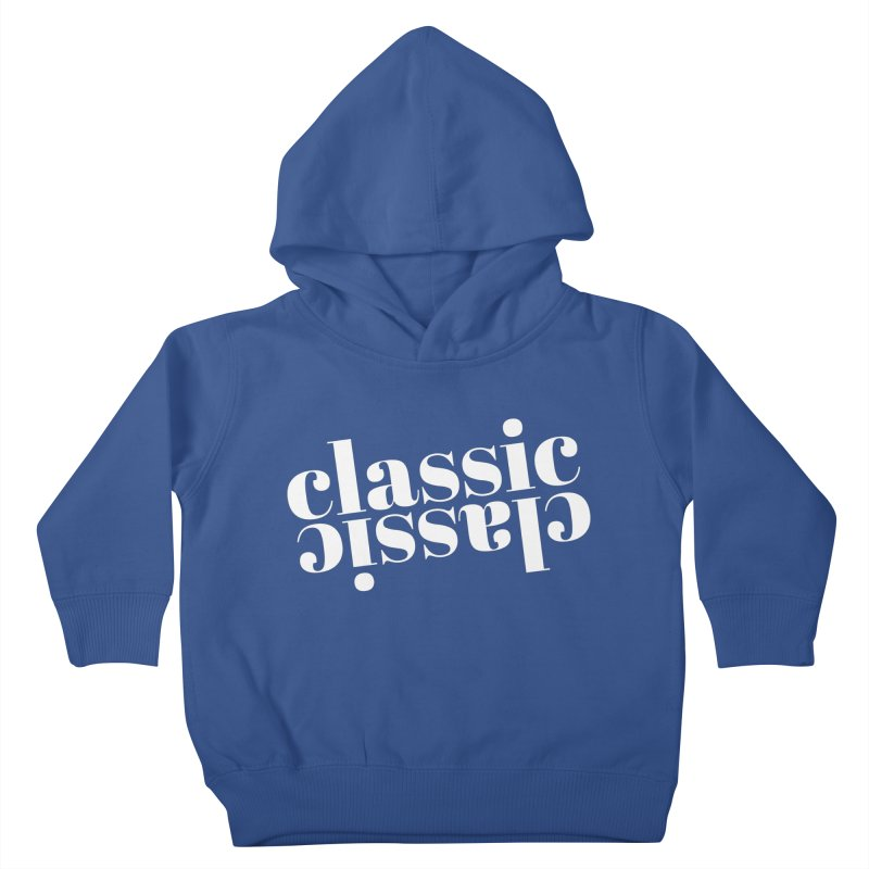 Classic.  Kids Toddler Pullover Hoody by Fun Things to Wear