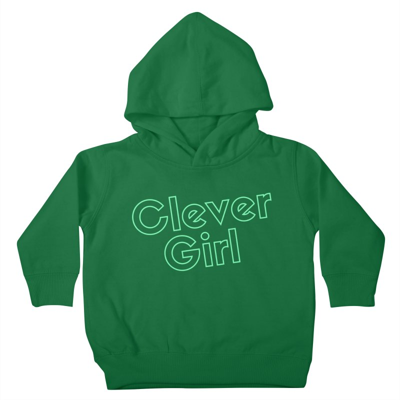 Clever Girl Kids Toddler Pullover Hoody by Fun Things to Wear
