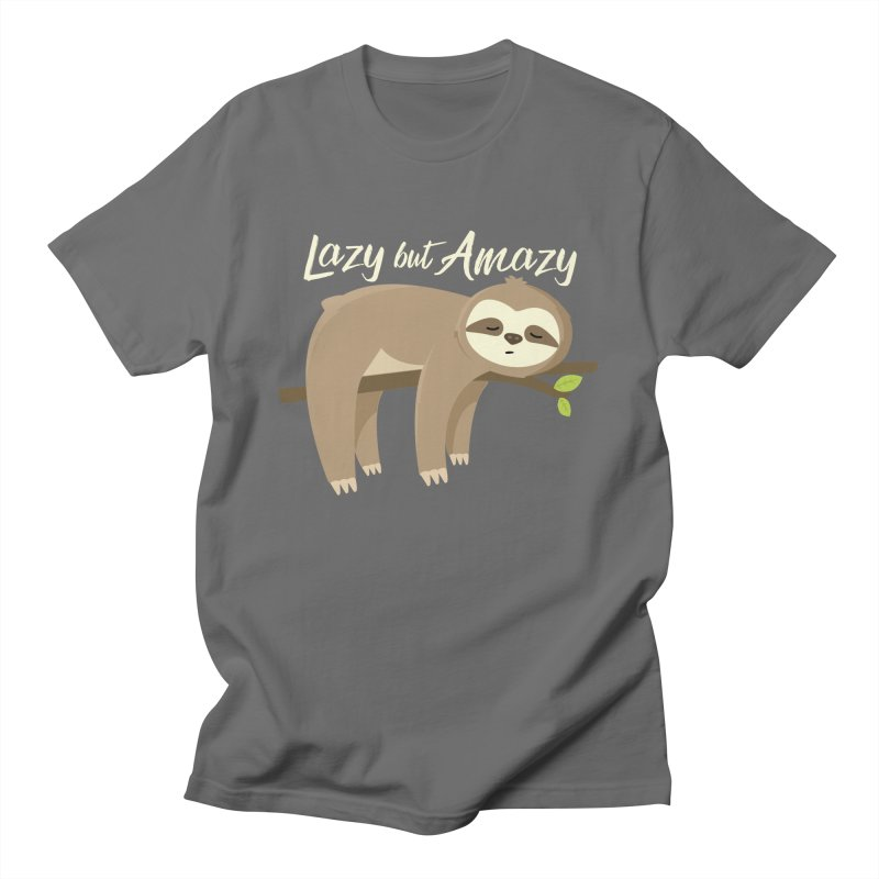 Lazy but Amazy Men's T-Shirt by FunUsual Suspects T-shirt Shop