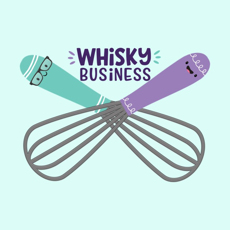 Whisky Business Women's Longsleeve T-Shirt by FunUsual Suspects T-shirt Shop