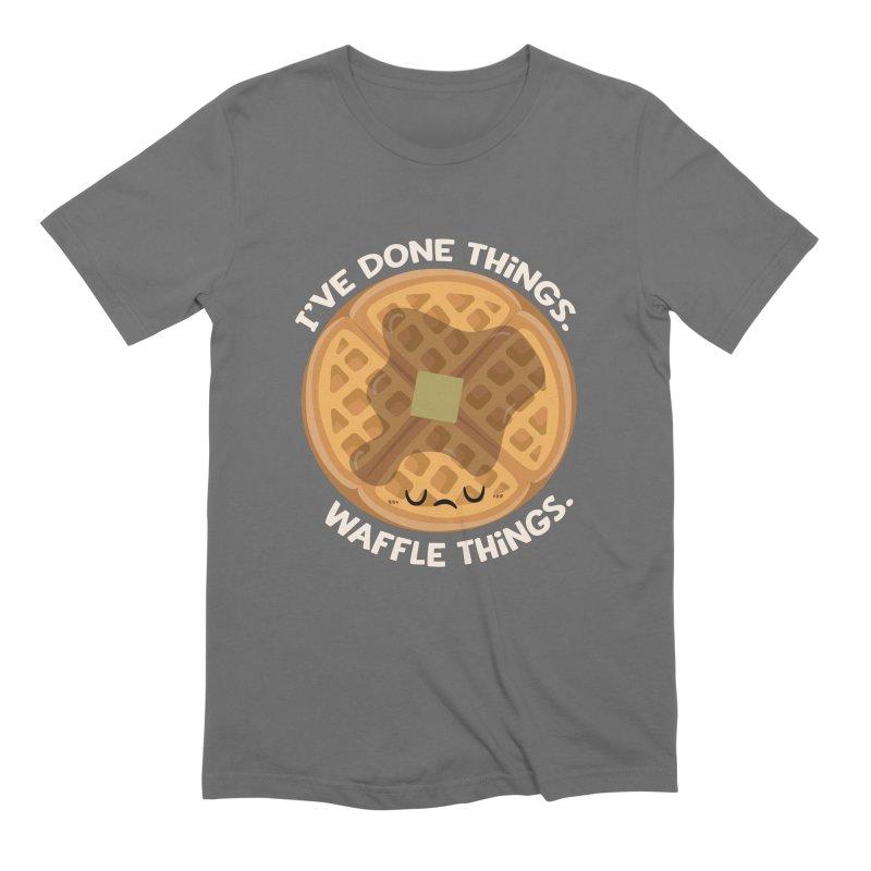 Waffle Things Men's T-Shirt by FunUsual Suspects T-shirt Shop