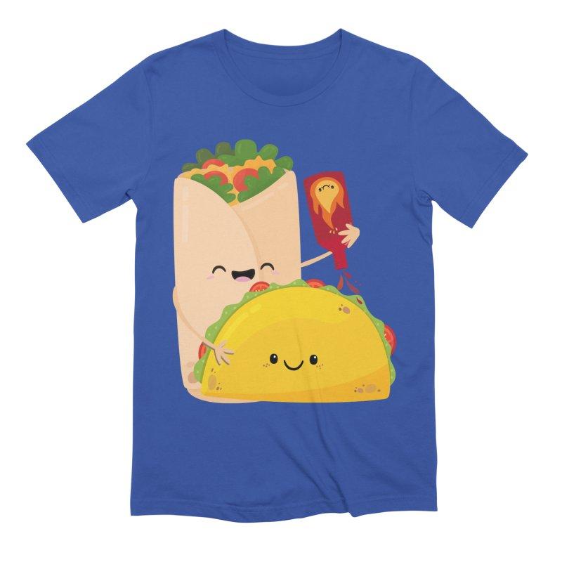 More Hot Sauce Please Men's T-Shirt by FunUsual Suspects T-shirt Shop