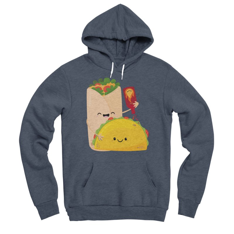 More Hot Sauce Please Men's Pullover Hoody by FunUsual Suspects T-shirt Shop