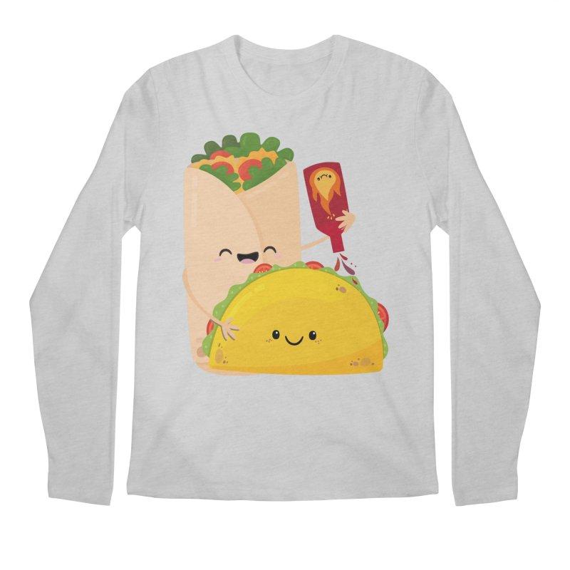 More Hot Sauce Please Men's Longsleeve T-Shirt by FunUsual Suspects T-shirt Shop