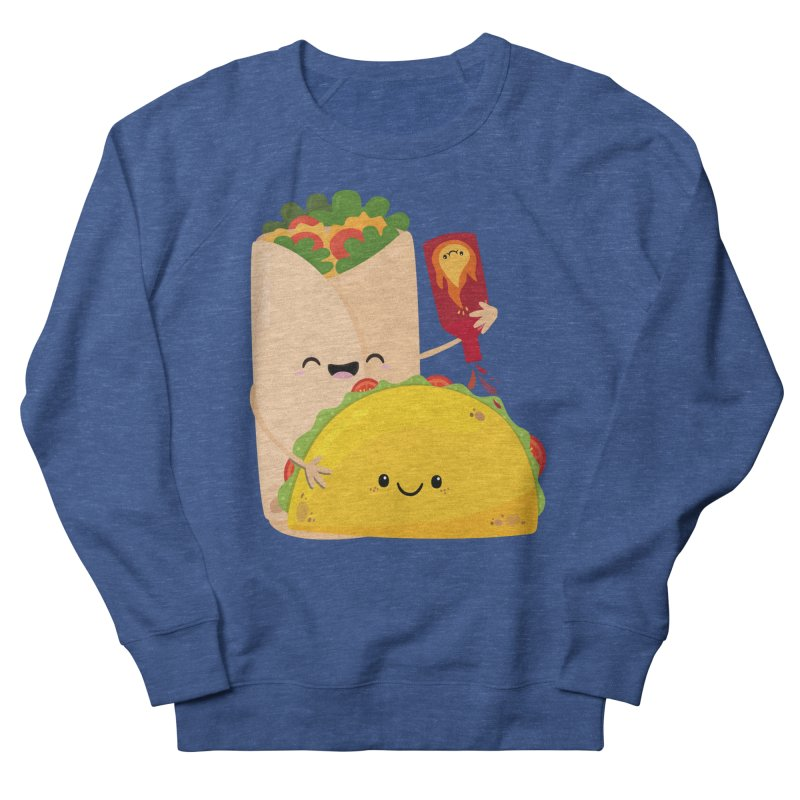 More Hot Sauce Please Men's French Terry Sweatshirt by FunUsual Suspects T-shirt Shop
