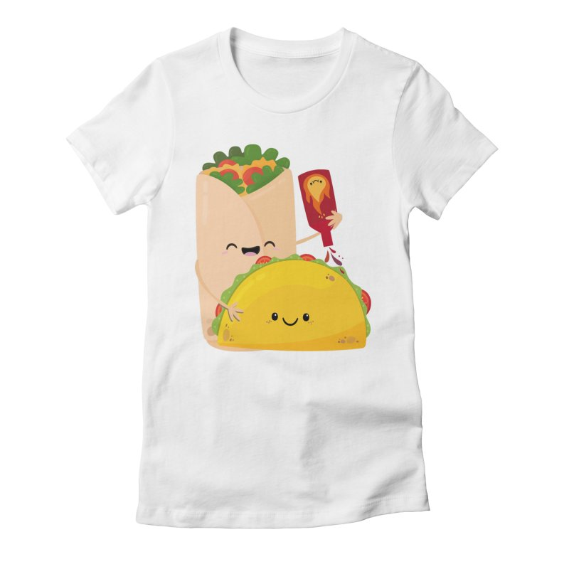 More Hot Sauce Please Women's T-Shirt by FunUsual Suspects T-shirt Shop